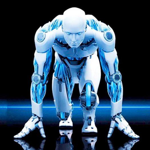 Robot al nastro di partenza